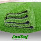 Идеальный ландшафт искусственном газоне в зоне общественного пользования, детский сад, наград