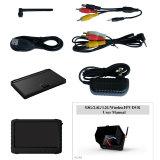 "32 Chs 5.8GHz 5 ""Wireless Monitor DVR Receiver com Sun Shield"