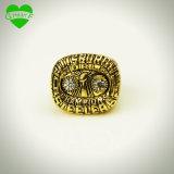 Alto anillo 1975 de campeonato de Quanlity Pitttsburgh Steelers en color de la hebra