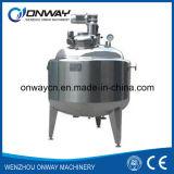 Serbatoio mescolantesi della mescolatrice dell'olio del serbatoio di emulsionificazione del rivestimento dell'acciaio inossidabile di Pl con l'agitatore
