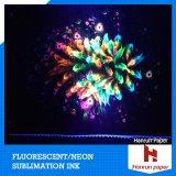Fluente fluorescente Magenta e Yello / C / M / Y / K / Bk Tinta de sublimação de corante fluorescente dispersa para impressora digital Mutoh / Roland / Epson / Mimaki / Ricoh