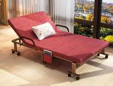 빨 수 있는 매트리스 덮개를 가진 침대 가구 이동할 수 있는 폴딩 여분 침대