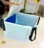 1.5 طن إسمنت جير [جومبو] مقلاع حقيبة مع تغطية, حزام سير