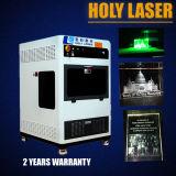 3D Laserlesegerät-Laser gravierte Kristallwürfel-Maschine