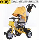 2016명의 새로운 알루미늄 합금 프레임 아이들 아이 Trike 아기 세발자전거
