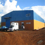 Prefabricated 가벼운 강철 구조물 창고를 짓게 쉬운