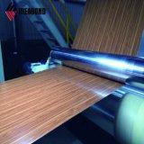 Ideabond estilo madera Pre-Painted bobina de aluminio (poliéster/PVDF)