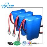 1s3p 6000mAh nachladbarer Lithium-Ionenbatterie-Satz für medizinische Ausrüstung