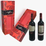 Cilindro Wine Packing/Cylinder Wine Box con Window