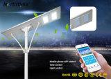 Im Freien integriertes 120W intelligentes Solar-LED Garten-Straßenlaterne