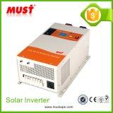 pour 12VDC à l'inverseur 220VAC solaire hybride pour de basse fréquence