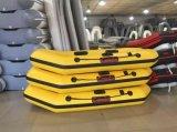 Inflotableの空気床のボート