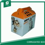 Handle를 가진 2016년 중국 Color Paper Cat Carrier Box