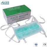 Blaue Farben-Tie-on chirurgische Gesichtsmaske-weiche Note