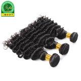 Nouveau produit Balck naturelle des Cheveux humains indiens Remy Hair trame