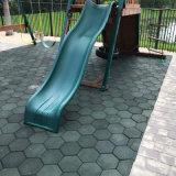 10mm de espessura e colorida de alta qualidade provido de EPDM Ginásio Flooring