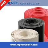 Feuille personnalisée en caoutchouc de silicones/feuille industrielle de silicones/couvre-tapis en caoutchouc de plancher