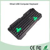 Клавиатура компьютера плана Azerty французская связанная проволокой USB (KB-1688)