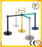 Arquibancada barreira retrátil Pole em Publc e suporte para fila de hotel