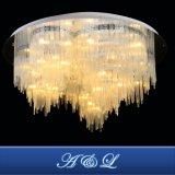 Proyecto de gama alta de Hotel Crystal LED lámpara de techo