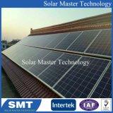 Accueil montures solaires réglable du système d'énergie solaire sur toit plat