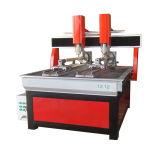 Router servo do CNC da gravura do parafuso do dobro da movimentação da madeira 1325/metal da estaca da elevada precisão/Acrylic/PVC Hyrid
