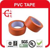 Precaución metro de la cinta aislante de PVC