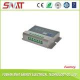 El automóvil identifica el regulador solar de la carga de 12/24V 10A para el sistema eléctrico solar