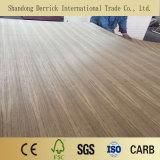 Total de 3,6 mm Gurjan Mismatch contrachapado de madera de teca de la India