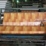 plancher de PVC de 0.35mm avec l'éponge de vinyle