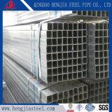 Tubo d'acciaio quadrato galvanizzato Hot-DIP del grado B del carbonio ASTM A53
