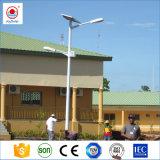 Alto brillo 30W 40W 50W 60W 70W 80W 100W 120W Solar exterior Calle luz LED de China Proveedor