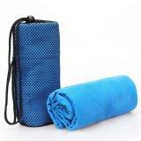 de Handdoek van de Reis van de Sporten Microfiber van 40X75cm met Zak