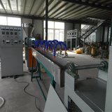 Aço plástico da câmara de ar da tubulação da exploração agrícola do PVC em fazer a extrusora da máquina