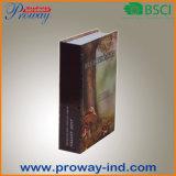 Buch-Safe mit überzogenes Papier-Deckel (B-S19-FCB)