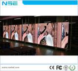 Fabricantes en pantalla grande de interior de la visualización de la etapa HD LED de los vídeos de P4mm