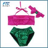 Ins-netter heißer Baby-kleiner Nixe-Strand-reizvoller Kind-Bikini