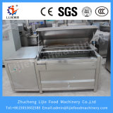 Lj-1500 tipo tipo de lavagem máquina do rolo da escova de casca do gengibre