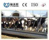 中国は鋼鉄牛馬の塀か塀のパネルに電流を通した