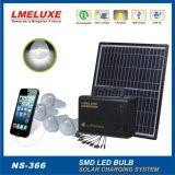 свет функции мобильного телефона 10W поручая солнечный