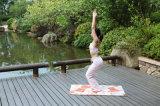 Pas de Patroon Afgedrukte Mat van de Yoga van het Lichaam Geschikte aan, 6p Vrij