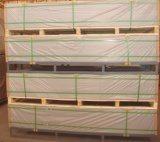 Hoja blanca de /Forex de la tarjeta de la espuma del PVC de la alta densidad, tarjeta rígida de la espuma del PVC de 25m m