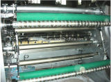 Velocidad serva de alta velocidad del mecanismo impulsor que raja y máquina el rebobinar