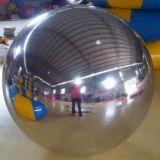Надувные огромный Серебряный шар надувной мяч наружного зеркала заднего вида продукции
