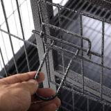 Zusammenklappbarer Plastik-und Draht-Haustier-Rahmen