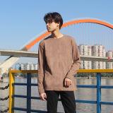 Custom peint couleur unie à manches longues femmes T-Shirt