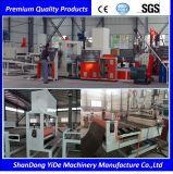 Piso de la bobina de rociado de PVC y la línea de producción de alfombras de pie