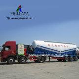 반 3개의 차축 유조선 바디 트럭 트레일러 대량 시멘트 가루 분말 유조선