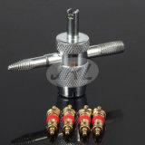 L'outil de noyau de valve pour le pneu refoule l'outil de déplacement de réparation