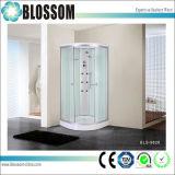 Glissement de la vapeur du secteur de massage en verre clair de la salle de douche complète (BLS-9828)
